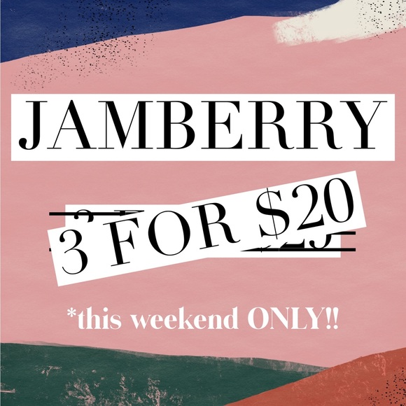 Jamberry Other - 3/$20 THIS WEEKEND ONLY! All partial wraps!